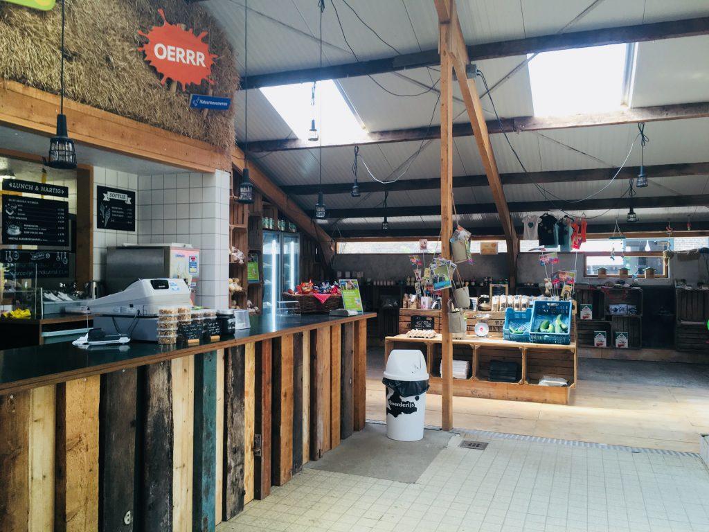 Belevenisboerderij Schieveen boerderijwinkel