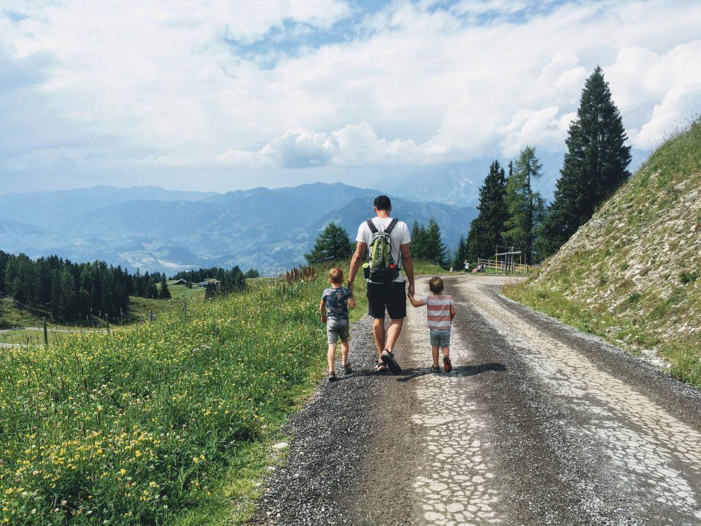 Salzburgerland Geisterberg Alpendorf