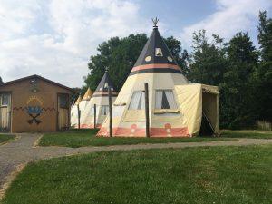 Pretpark Slagharen wigwam