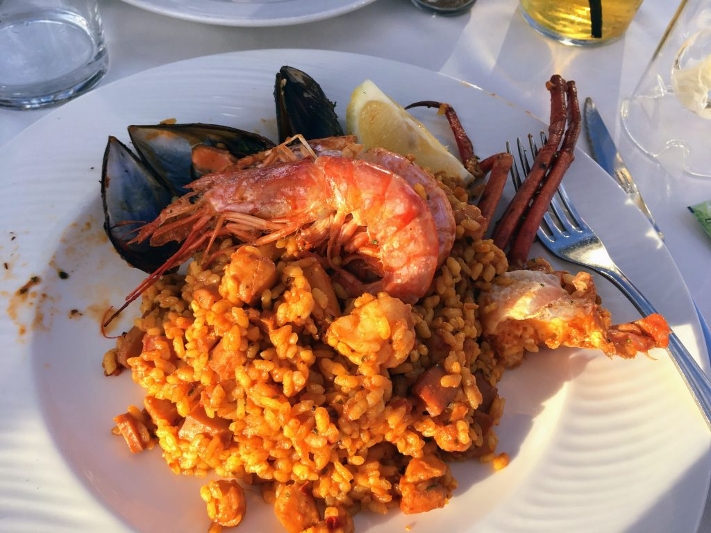 Paella cala d'or