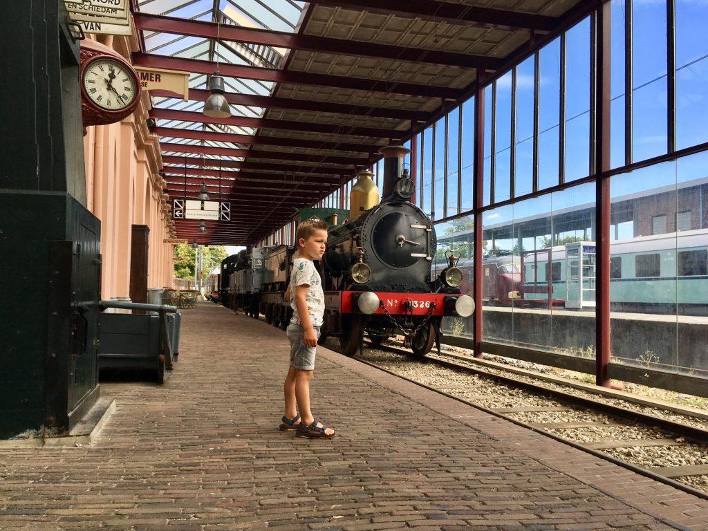 Locomotief Maliebaanstation