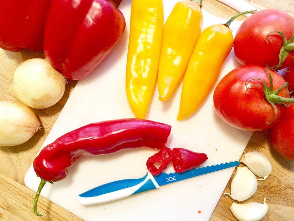 Paprika tomaten soep