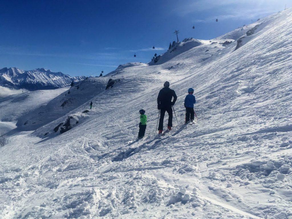 wintersport met kinderen van mamalies