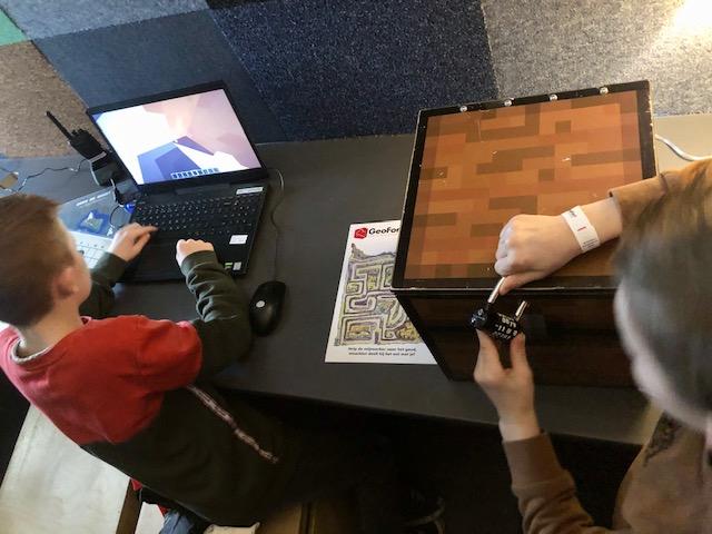 Minecraft speurtocht bij geofort