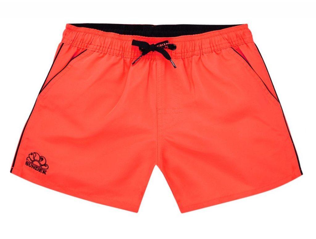 sundek zwembroek oranje voor jongens
