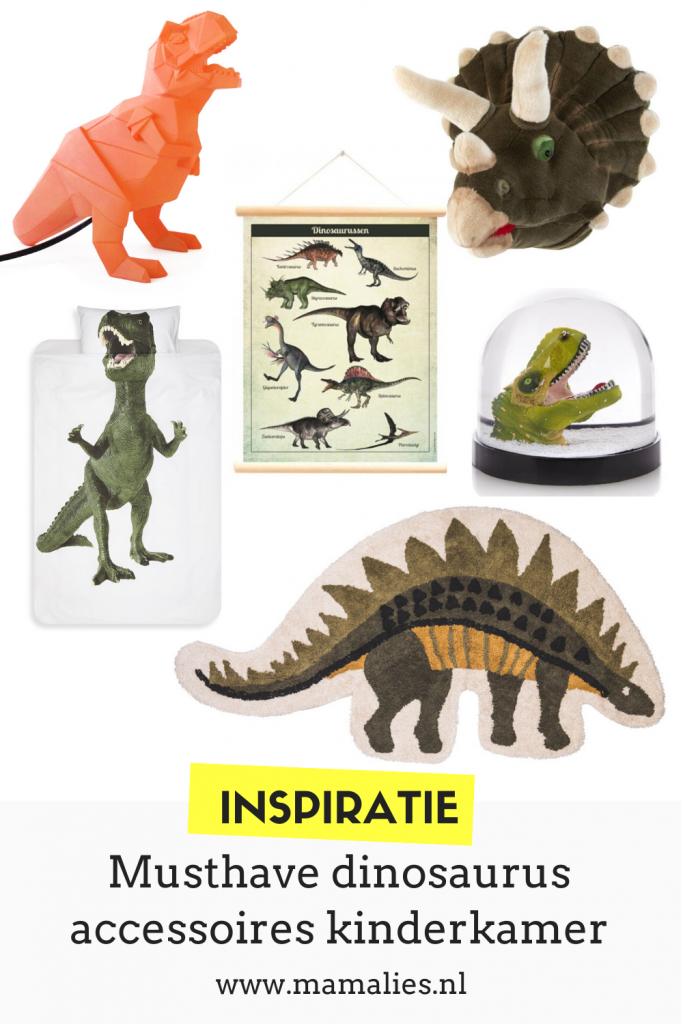 Dino inspiratie voor de kinderkamer