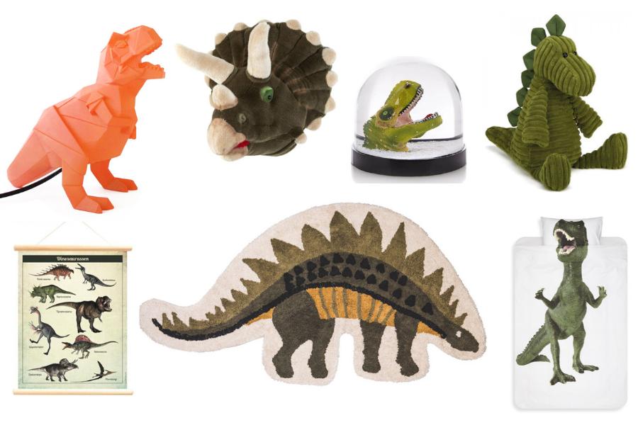 Leuke dinosaurus accessoires voor de kinderkamer