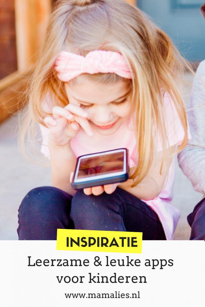 Pinterest leerzame apps voor kinderen