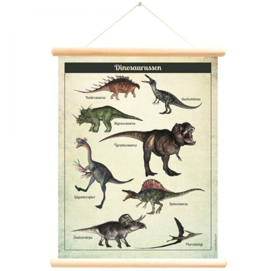 Dinosaurus accessoire voor aan de muur