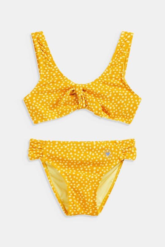 Leuke gele bikini voor kinderen