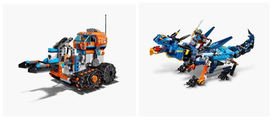 Lego boost combineren met deze 2 lego sets