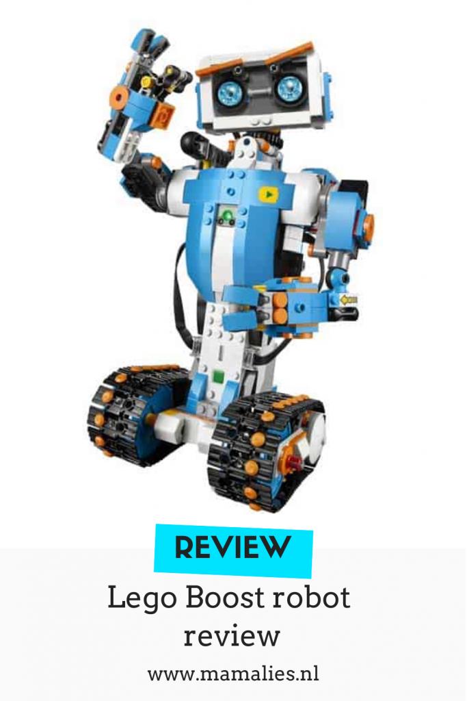 Pinterest afbeelding lego boost ervaring en review