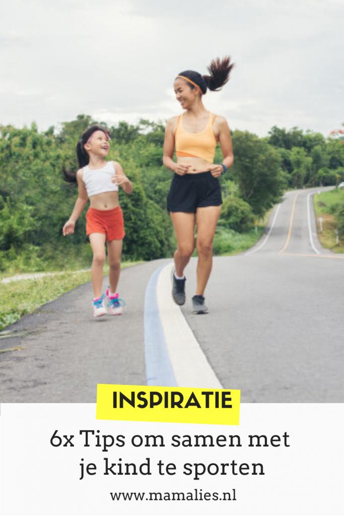 Pin voor samen sporten met je kinderen
