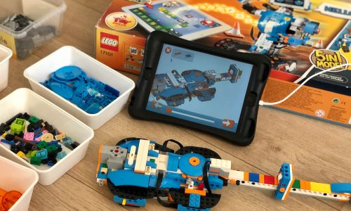 Lego boost set 17101 robot review