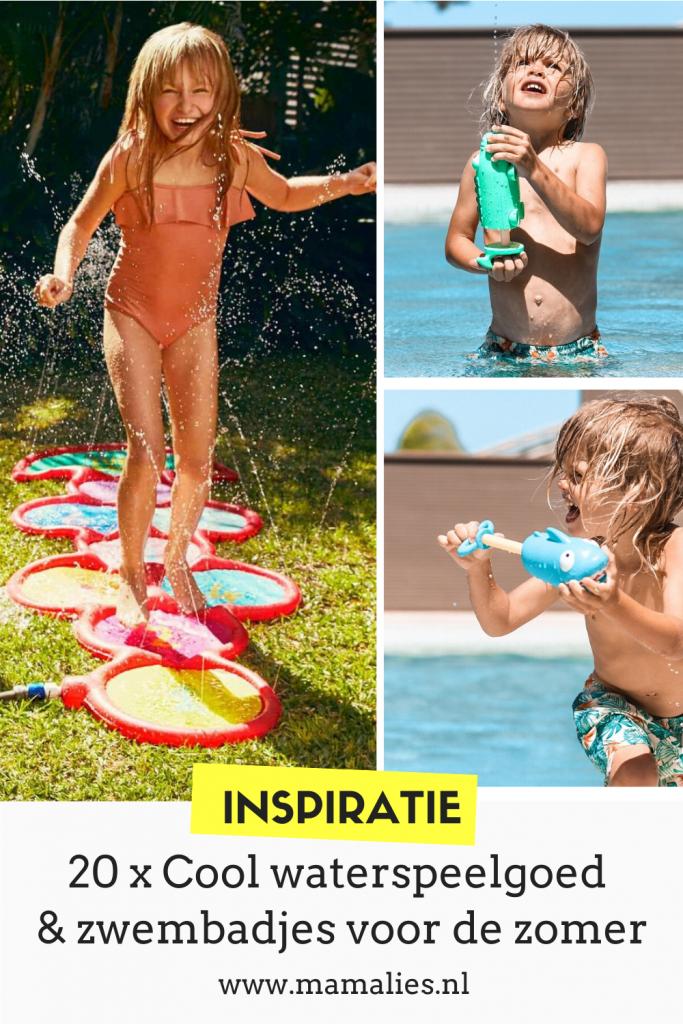 20 x leuk waterspeelgoed en opblaas zwembad voor de zomer