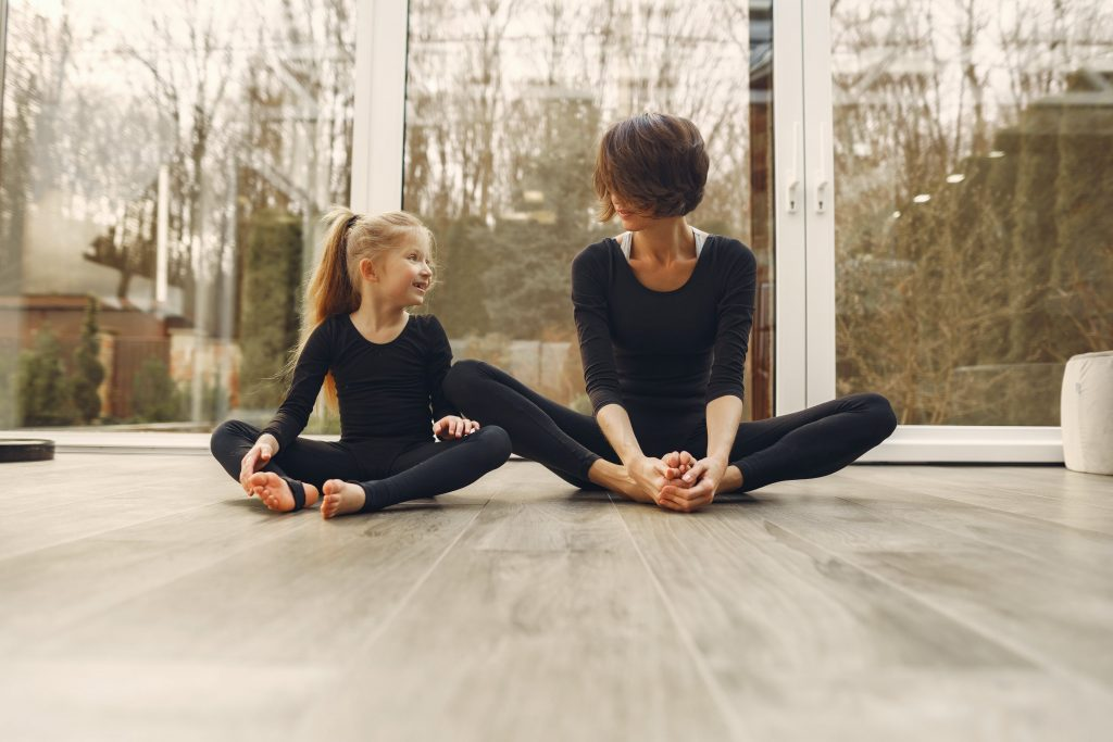 Samen sporten met kinderen is leuk en gezond