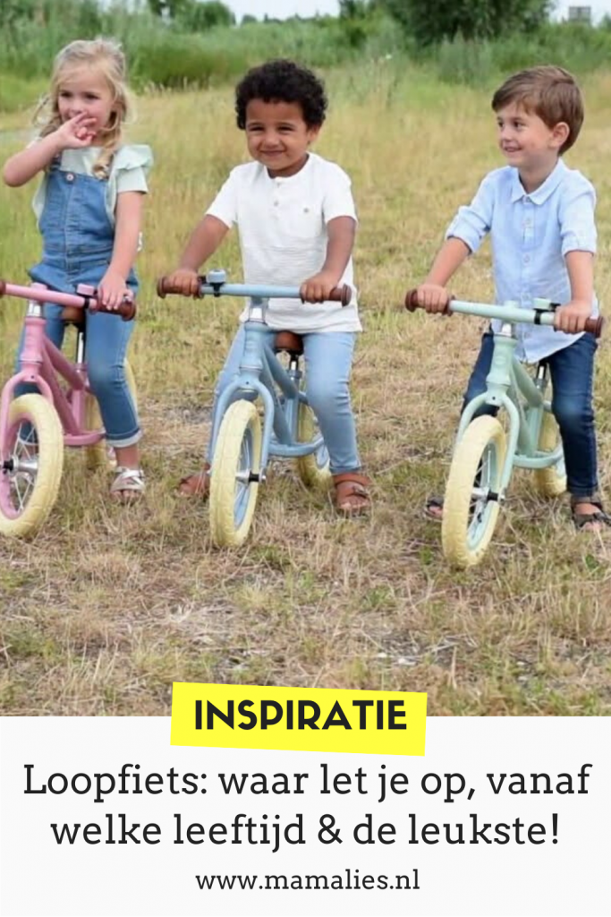 Loopfietsen voor kinderen