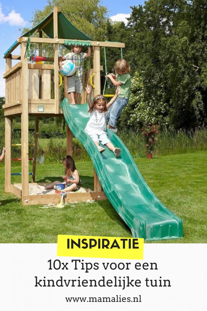 Zo maak je je tuin kindvriendelijk