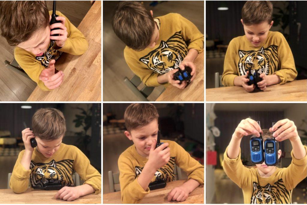 Leuke walkie talkie voor de kinderen