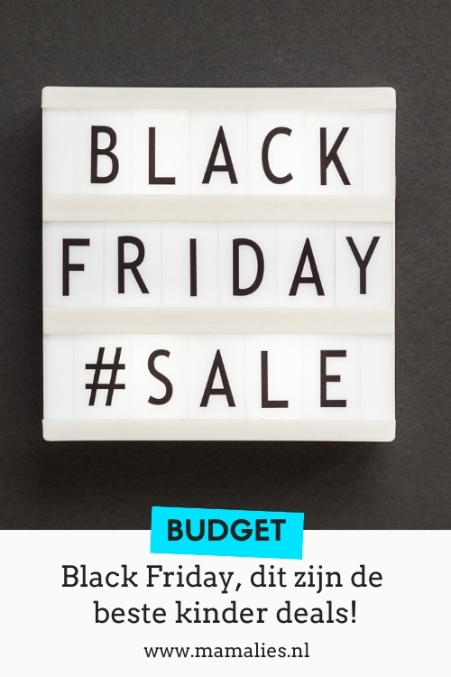 Pin Black Friday de beste kinder deals