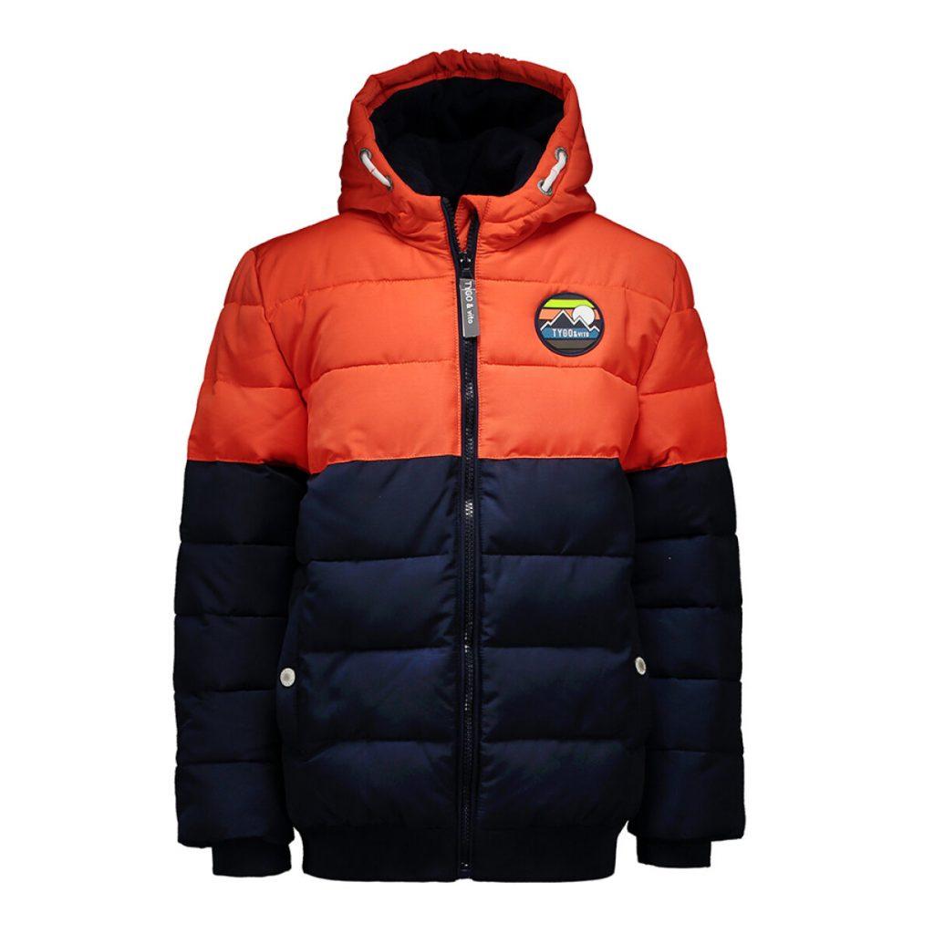 Winterjas gewatteerd voor jongens