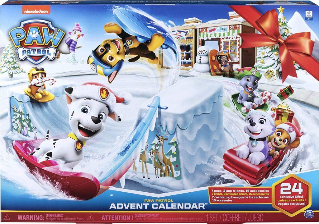 Aftelkalender van Paw Patrol