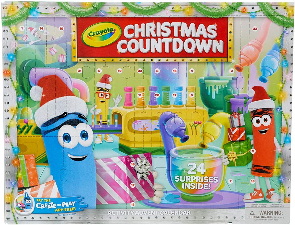 Crayola knutsel aftelkalender