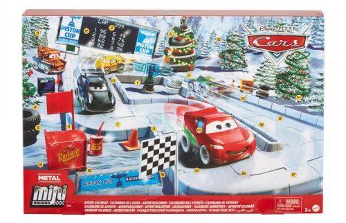 Cars aftelkalender kerst
