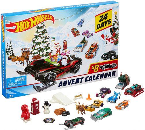 Aftelkalender van Hot Wheels