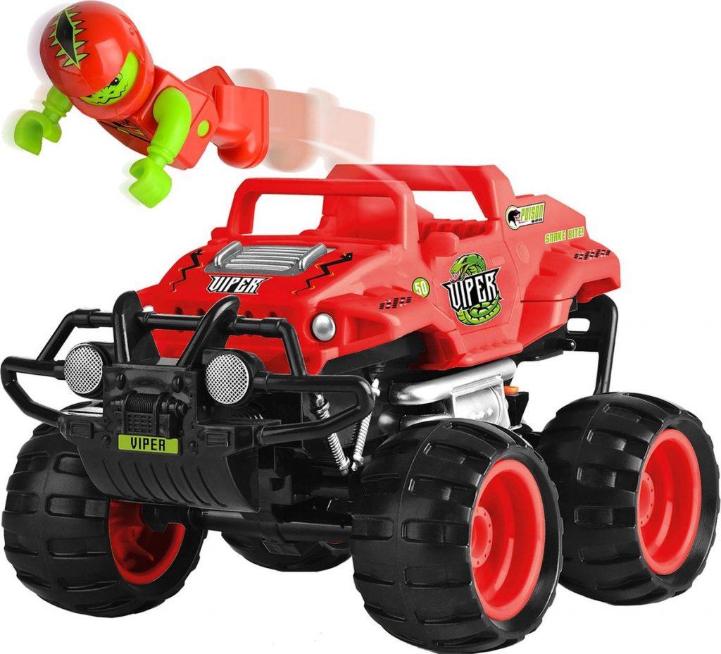 Monster bestuurbare auto voor kleuters