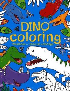 goedkoop kleurboek dino