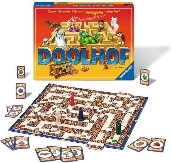 Een van de klassieke bordspellen is Doolhof