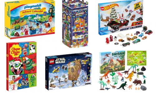 Leuke adventskalenders voor kinderen met speelgoed en snoep