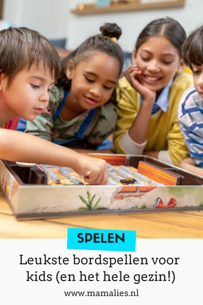 Leuke bordspellen en spellen voor kinderen