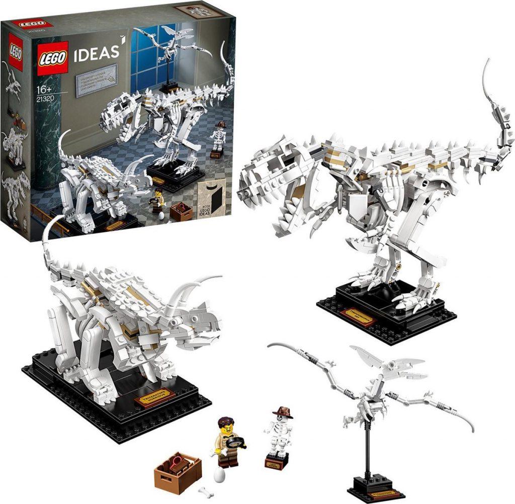 bouwset dinosaurus fossielen van Lego
