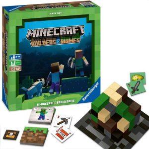 Bordspel van minecraft voor kinderen