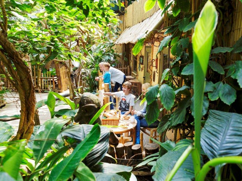 Jungle cabana ervaring voor kinderen bij center parcs