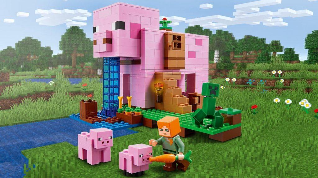 Leuke lego minecraft bouwset voor kinderen