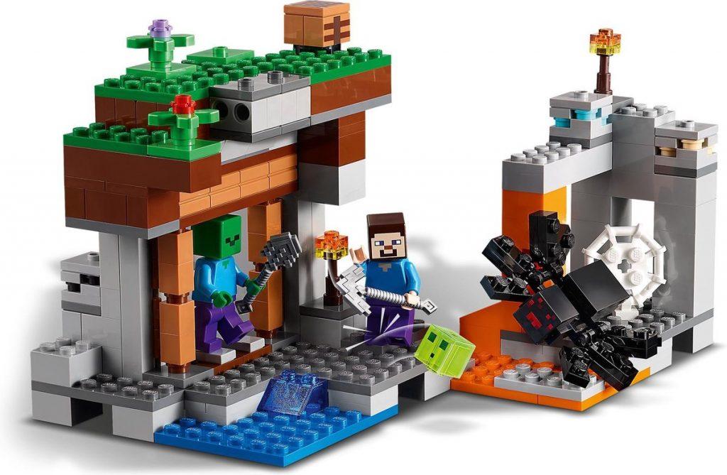 Bouwset van LEGO Minecraft speelgoed
