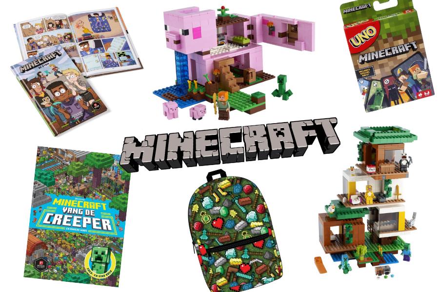Minecraft speelgoed tips en favorieten boeken.