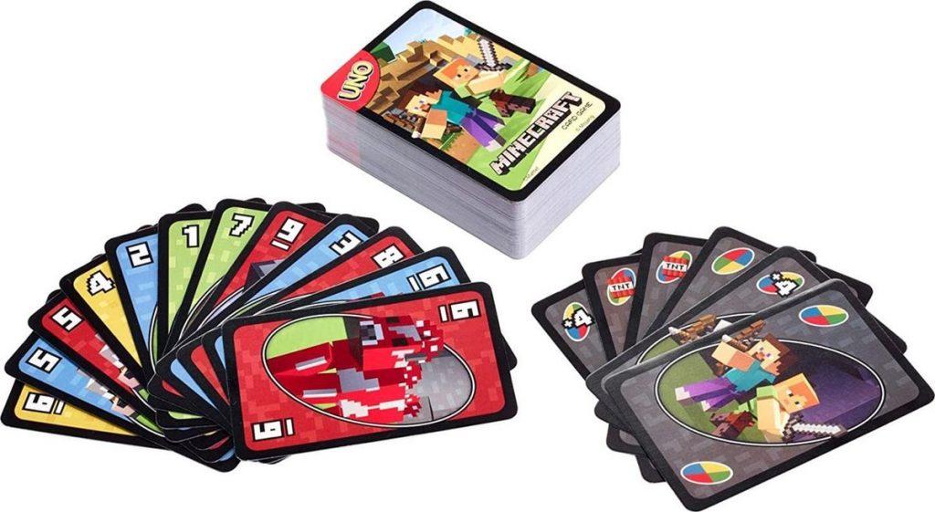 Uno kaartspel minecraft